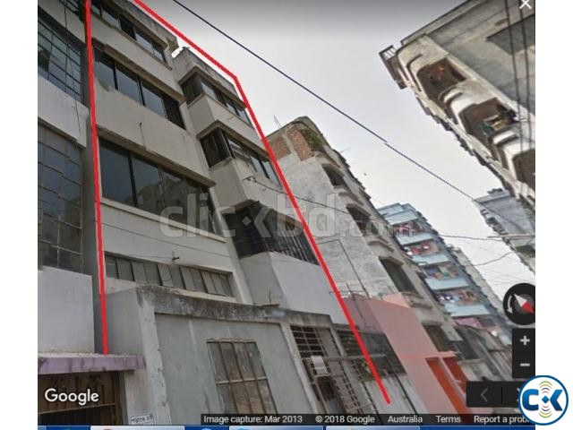 Land with 4 Storey House in Rupnagar Mirpur | ClickBD large image 0