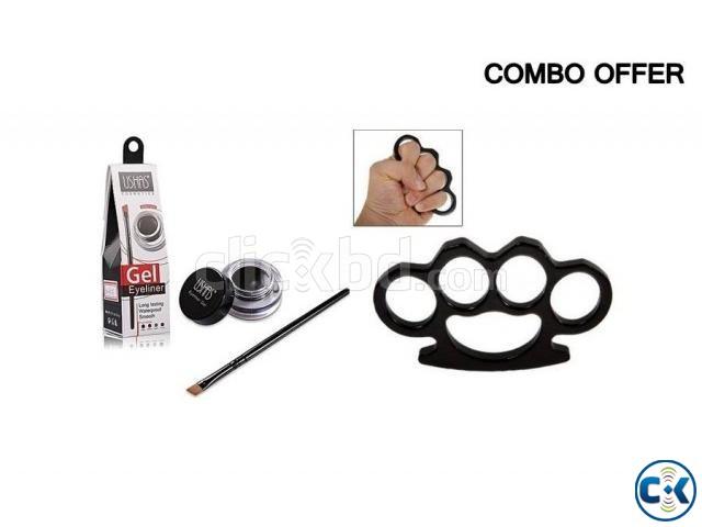 Stainless Steel Bracelet USHAS Eyeliner Gel Combo | ClickBD large image 0