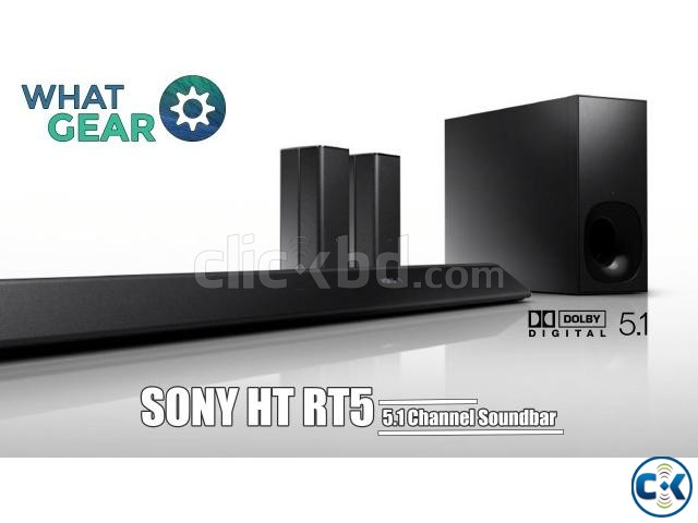 Sony HT-RT5 Soundbar 550W 5.1-Channel Wireless Speaker BD | ClickBD large image 2