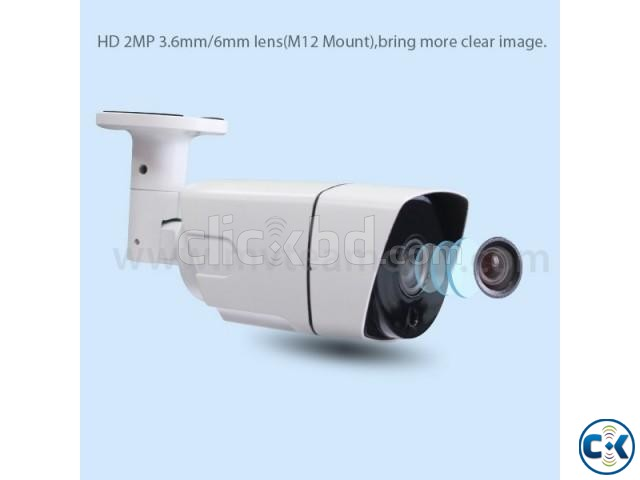 AHD CCTV CAMERA 4 PCS DVR 4 PORT PACKAGE BD | ClickBD large image 3