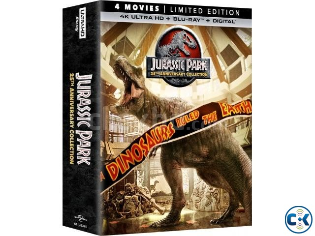 Jurassic Park Collection 4K Blu-ray 4 Disc  | ClickBD large image 0