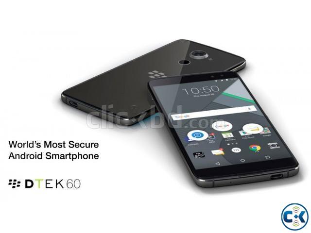Brand New Blackberry DTEK 60 Sealed Pack With 3 Yr Warranty | ClickBD large image 1