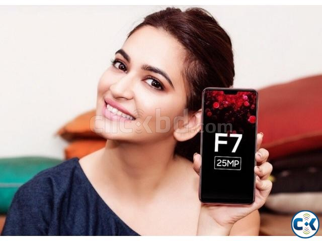 Oppo F7 64GB 1 Year Official Warranty | ClickBD large image 1