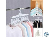 Magic 8 In 1 Multifunctional Foldable Cloth Hanger