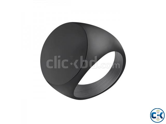Black Finger Ring for Men | ClickBD large image 0