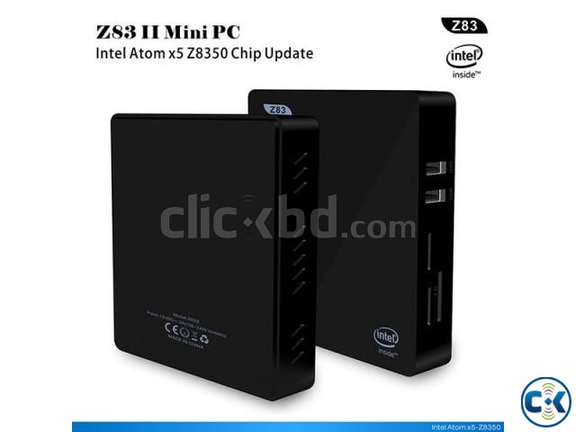 Z83II Intel Atom x5-Z8350 64bit Win10 Mini PC 2GB DDR3 RAM U | ClickBD large image 1