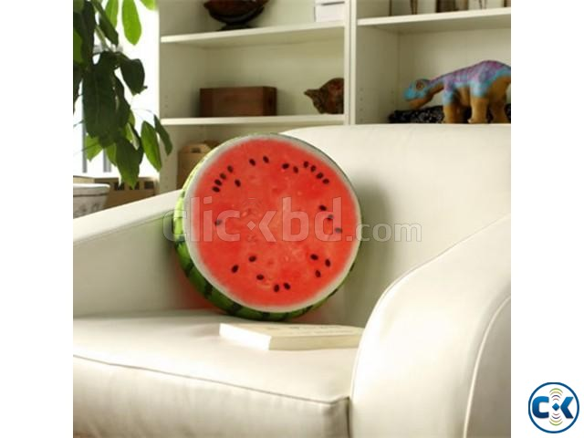 3D Watermelon Pillow Creative Cushions For car office decore | ClickBD large image 1