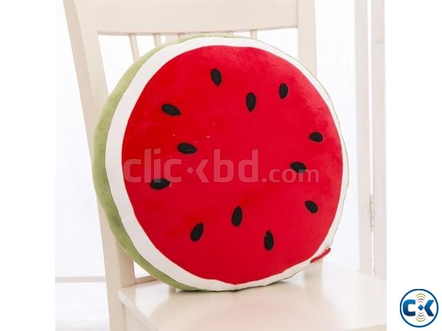3D Watermelon Pillow Creative Cushions For car office decore | ClickBD large image 3