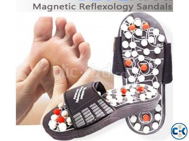 Acupuncture Massage Reflexology Slipper | ClickBD large image 0
