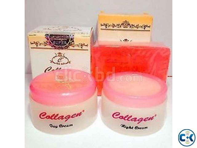 Beauty Soap Cream Set Collagen  | ClickBD large image 0