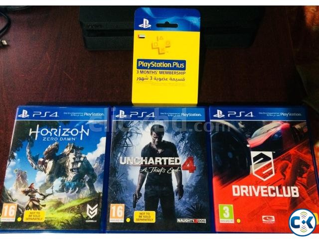 3 Ps4 Games Plus card | ClickBD large image 0