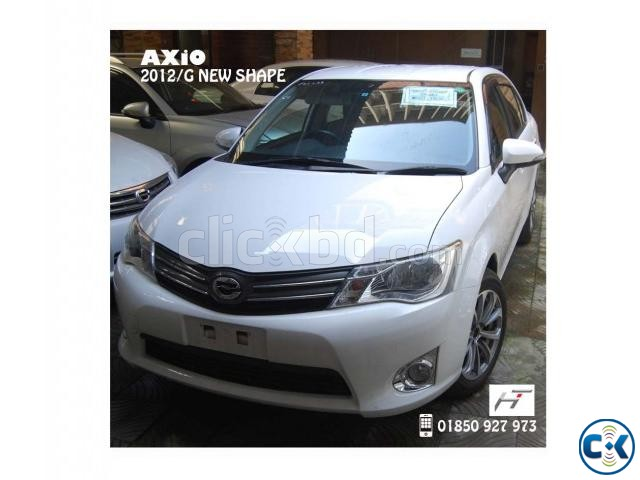 TOYOTA AXiO G 2012_NEW SHAPE | ClickBD large image 0