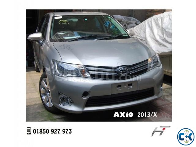TOYOTA AXiO X 2013_Mellow Silver | ClickBD large image 0