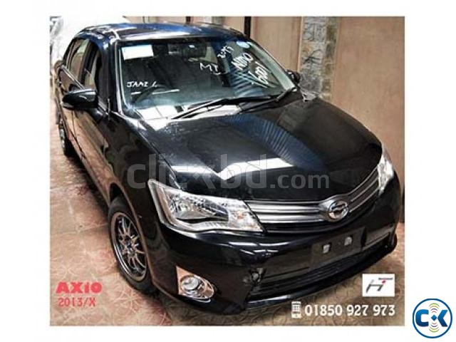 TOYOTA AXiO X 2013_BLACK | ClickBD large image 0