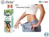 Dexe Aloe Vera Cream for Slimming Fast Loss 200ml