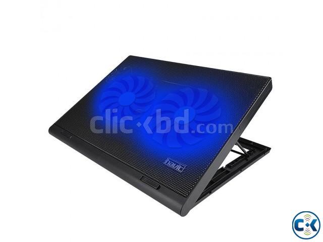 Havit 14-15.6 Inch Dual Fan Laptop Coolling Pad | ClickBD large image 0