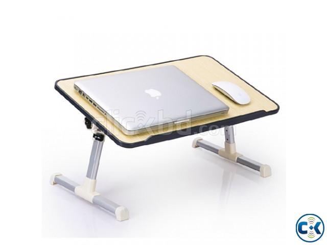 Ergonomic Laptop Desk with Built in Cooler | ClickBD large image 0