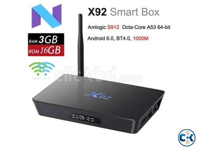 X92 Amlogic S912 OctaCore Android 7.1 TV Box | ClickBD large image 0