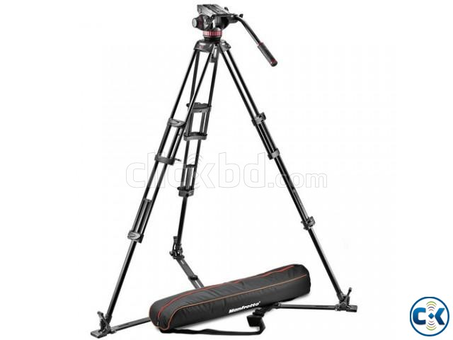 Manfrotto 502HD Ball Base Fluid Head 546GB Tripod and bag | ClickBD large image 3