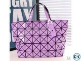 Laser Geometric Handbag Colors Shoulder bag for girls