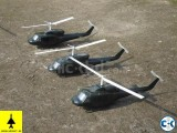B-212 Helicopter Model