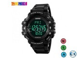 SKMEI 1250 Bluetooth Smart Watch Call SMS Reminder stand B