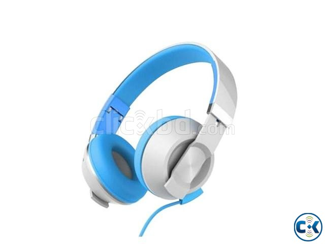 Havit HV-H2171D Foldable Headphone-Blue White | ClickBD large image 0