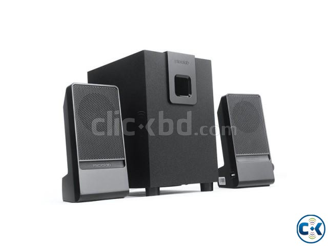 Microlab M100 2.1 Channel Multimedia Speaker | ClickBD large image 0