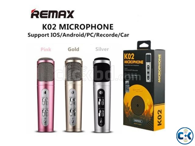 REMAX K02 NOISE CANCELING MICROPHONE | ClickBD large image 1