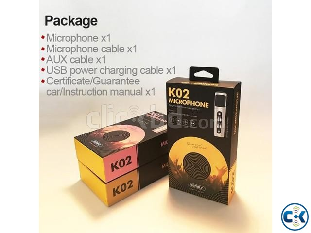 REMAX K02 NOISE CANCELING MICROPHONE | ClickBD large image 2