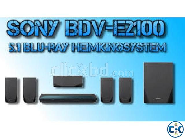 Sony Hometheater E2100 BLUE RAY DISC DVD HOME THEATER SYSTEM | ClickBD large image 1