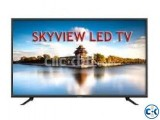 Sky View 32 Inch HDMI USB Ultra HD Level LED Television