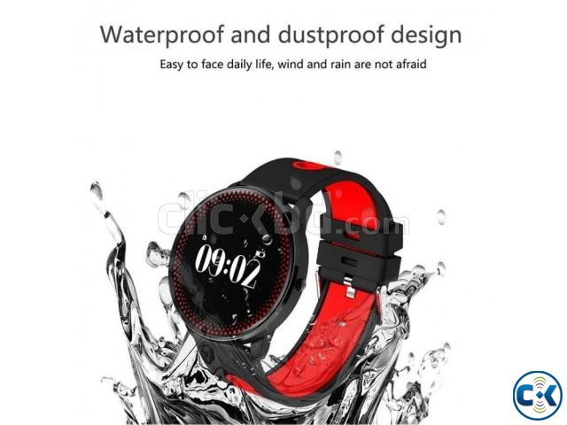 CF008 Smart Watch in BD Heart Rate Blood Pressure Water-Proo | ClickBD large image 0