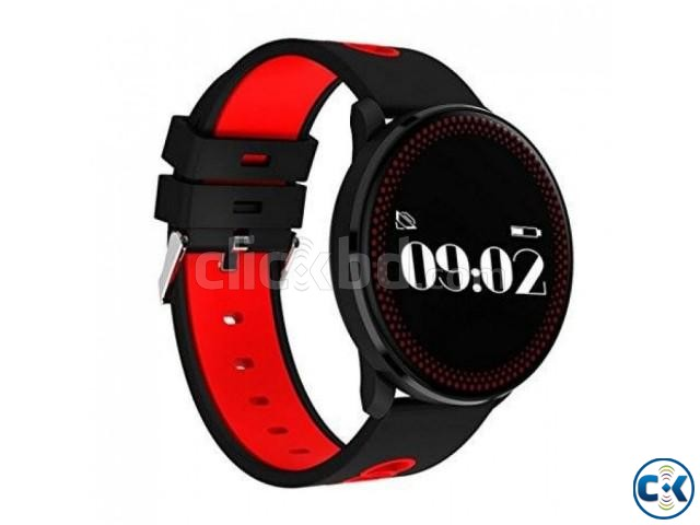 CF008 Smart Watch in BD Heart Rate Blood Pressure Water-Proo | ClickBD large image 2