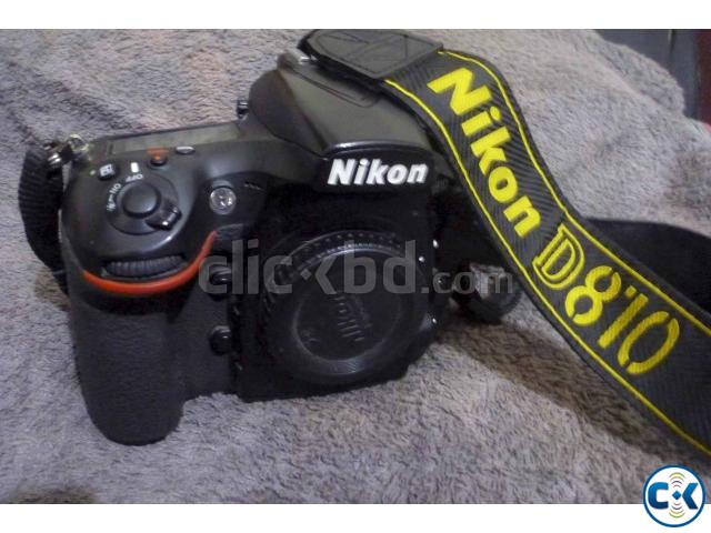 Nikon D810 body only | ClickBD large image 0