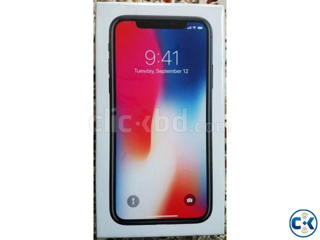 IPhone X 256 Intact Box Original | ClickBD large image 0