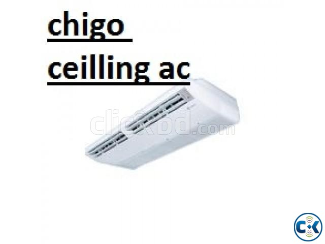 Original Chigo CS15EC30 3 Ton ceilling type AC | ClickBD large image 1