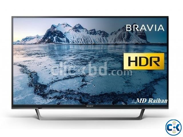 Sony Bravia X7000E 43 Wi-Fi Smart Slim 4K HDR LED TV | ClickBD large image 1