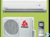 Chigo 1.5 TonWall Split AC Energy Save 62 Fittings Warrenty