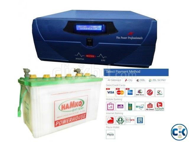 Dsp Sine Wave UPS IPS 1000va 800watt Backup 2 Hour | ClickBD large image 0