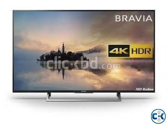 Sony Bravia X7500E 43 Flat 4K UHD Wi-Fi Smart Android TV | ClickBD large image 0