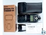 New Yongnuo YN560-III Speedlite camera flash Box