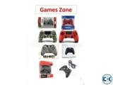 All gaming controller available in Games Zone