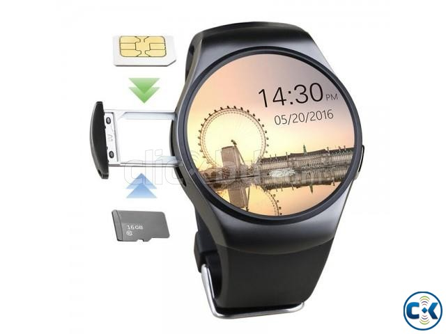 KW18 Smart Watch Waterproof price in bd | ClickBD large image 0