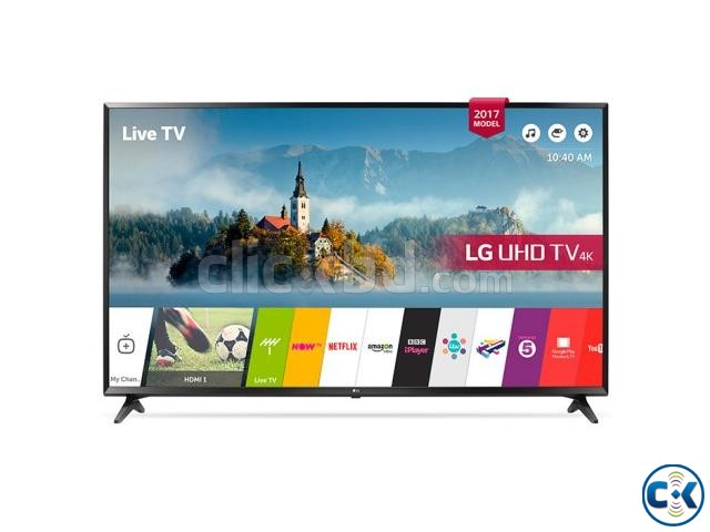 LG UJ630T 4K UHD 43 Inch HEVC Codec Smart LED Television | ClickBD large image 1