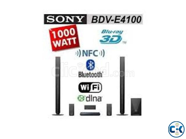1000W Sony BDV-E4100 3D blu-ray theater system 5.1 channel | ClickBD large image 1
