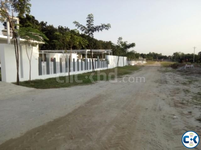 5Katha Southfacing Plot in Purbachal | ClickBD large image 0