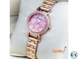 Cartier Pink Womens Wrist Watch