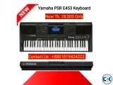 Yamaha Keyboard PSR E453 61-Key .