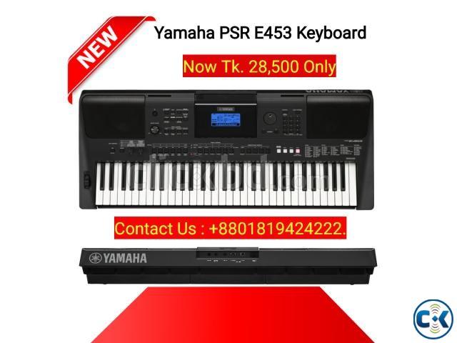 Yamaha Keyboard PSR E453 61-Key . | ClickBD large image 0